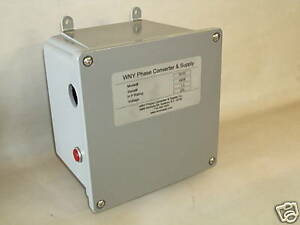 1 - 5 Hp Static Phase Converter Mill Drill Lathe.NOW on sale made in USA SC05SW