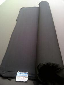 NEOPRENE SHEET WETSUIT MATERIAL MOUSE MAT 4MM BLACK  32cm x 22cm SECTION