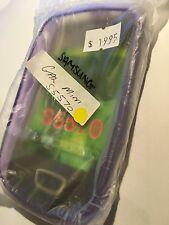 Samsung Galaxy Mini S5570 Fitted TPU Flexible Skin Case Cover in Purple # 4816