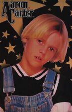 MUSIC POSTER~1990's Aaron Carter As a Kid Brother Rap Hip Hop Still In Casing~