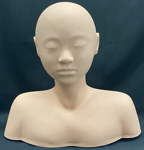 "15"" Marianna Mannequin Head & Shoulders-Massage Training Esthetics"