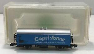 Marklin 8633 Z Scale Capri-Sonne Refrigerated Boxcar EX/Box