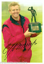 """Colin Montgomerie Colour 10""""x 8"""" Signed Golfing Trophy Win Photo - UACC RD223"""
