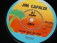 "Jim Capaldi:  Talkin' bout my baby  PROMO  7""   EX+"