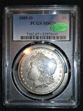 1885 O MS 67+ $1 Morgan / Condition rarity!!!! MS67+++++ CAC