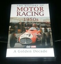 The History of Motor Racing 1950s A Golden Decade DVD Duke Video PAL R0