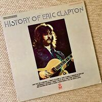 "ERIC CLAPTON  ""History Of Eric Clapton""  --  Orig. 1972 Double LP First Pressing"