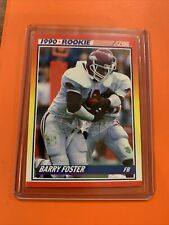 1990 Score Rookie Card #308 Barry Foster Arkansas Razorbacks Mint