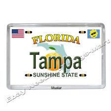 Souvenir Foto Magnet - Tampa Florida -  Fotomagnet - 5mm Acryl