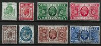 SG434-7 & 453-6.  1929 PUC Low Values & 1935 Silver Jubilee. 2 VFU Sets  Ref:0.7