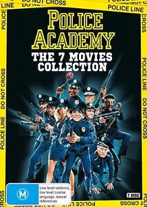 POLICE ACADEMY 1 - 7 Complete Collection : NEW DVD