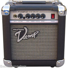 "Portable Practice Acoustic Electric Guitar 20W Amplifier 6"" inch Audio Speaker"