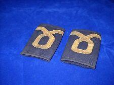 Vintage Pair Shirt Epaulettes Insignia Assistant Ensign Greek Navy