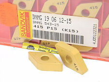 NEW 10PCS. SANDVIK DNMG 543-15  GRADE: 415 CARBIDE INSERTS