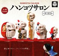 epoch Han tips salon Gashapon 5set mascot capsule toys Figures Complete set