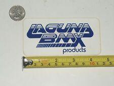 old school NOS Laguna BMX products bike decal 26 cruiser sticker numberplate