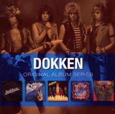 Dokken ORIGINAL ALBUM SERIES Box Set TOOTH & NAIL Under Lock & Key NEW 5 CD