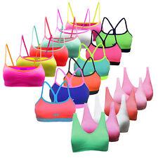 Glamexx24 Mädchen Bustier 6er Pack Klassiche BHS Underwear Sport Bra Seamless