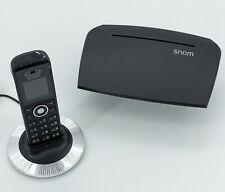 Snom m325 DECT, VoIP-teléfono-bundle con m300-estación base