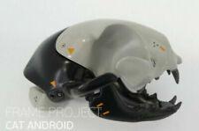 Resin Figure Kit Cat Android Skull Unpainted Garage Resin Model Kit