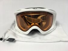 Oakley Ambush 013340Snow Polished White Persimmon NWT never used