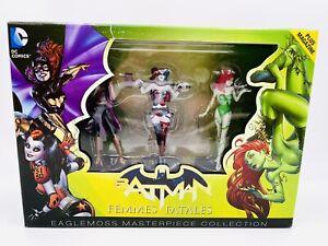 DC Masterpiece Figure Set Femme Fatales Harley Quinn Batgirl Poison Ivy Rare