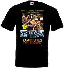 Cannibal Ferox v1 T-shirt black poster all sizes S...5XL