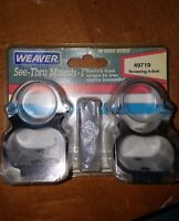 Weaver See Thur Scope Mounts 49719 For Browning A-Bolt