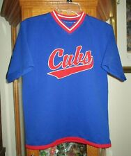 CHICAGO CUBS BASEBALL SHIRT/JERSEY BOY SZ. L (14/16) PRE-OWNED GOOD CONDITION