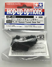 Tamiya 53342 TL-01/TL01 Speed-Tuned Gear Set (TL-01LA/TL-01RA) NIP