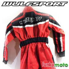 Combinaisons et blousons sport rouge kart pour sport automobile