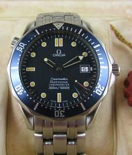 Omega Seamaster Automatic Gents Watch Blue 2531.80.00 41mm Boxed & Papers 1996
