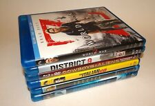 New Listing6 Science Fiction Action Blu-ray Lot! World War Z, District 9 Species