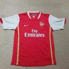 Arsenal Home Football Shirt 2006 2008 XL Kids (XS Adult) Jersey Nike  Red
