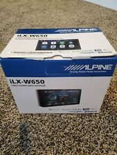 "Alpine iLX-W650 Car Double DIN 7"" Touchscreen Bluetooth Media Radio Receiver"