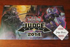 Yugioh Playmat Judge 2014 Vampire Hunter Crimson Knight Bram