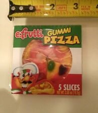 36/0.55 oz Pack Gummi Pizza Candy,For Snack,Party,Individually Package,E.Frutti