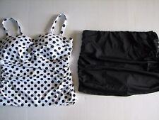 NWT Ralph LAUREN WOMAN Skirted Tankini Swim Bathing Suit Plus Size 18W