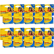10 Rolls Kodak GC 24 UltraMax 400 ISO Color Print 35mm Film