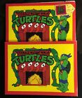 2 Teenage Mutant NInja Turtles Vintage Gift Boxes from 1990