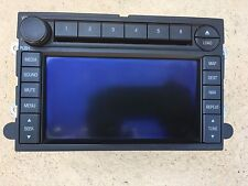 08 09 FORD MERCURY MOUNTAINEER NAVIGATION GPS Radio 6 Disc Changer CD Player