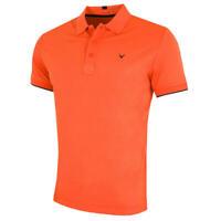 Callaway Golf Mens Contrast Tipped Opti-Dri Stretch Polo Shirt 51% OFF RRP