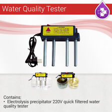 Electrolysis precipitator,220 V  Quick filtered water Quality Tester