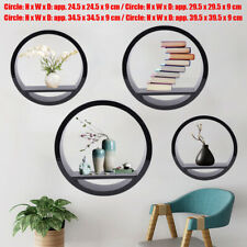 4 x Wall Mount Shelf Storage Rack Hanging Display Home Decor Holder High-quality