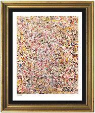 "Jackson Pollock Signed & Hand-Numbered Ltd Ed ""Untitled"" Litho Print (unframed)"