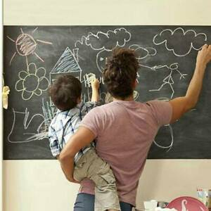 Removable For Kids Room Chalk Board Blackboard Art Draw Stickers Home Decors