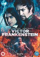 Victor Frankenstein  (DVD)   Daniel Radcliffe (Harry Potter) James McAvoy (Xmen)