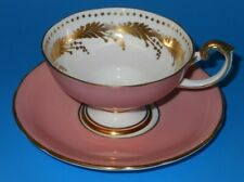 AYNSLEY #c1960 gorgeous tea cup and saucer set.