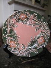 William Moorcroft Florian plaque art nouveau British céramique décorative