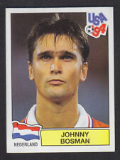 Panini - USA 94 World Cup - # 428 Johnny Bosman - Nederland (Black Back)